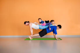 This Fun Interactive Class Includes Yoga Games Partner Poses And Breathing Exercises That Will Benefit Both Children Adults